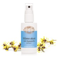 Hämo akut mit Hamamelis Spray