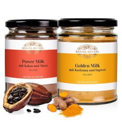 Set Golden Milk & Power Milk Pulver