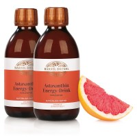 Duo Astaxanthin Energy-Drink Konzentrat Orange/Grapefruit mit Deko