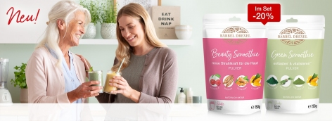 Set Green Smoothie & Beauty Smoothie Pulver
